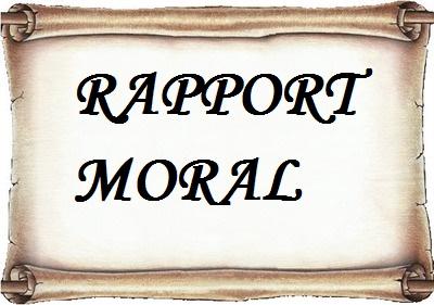Rapport moral 2017